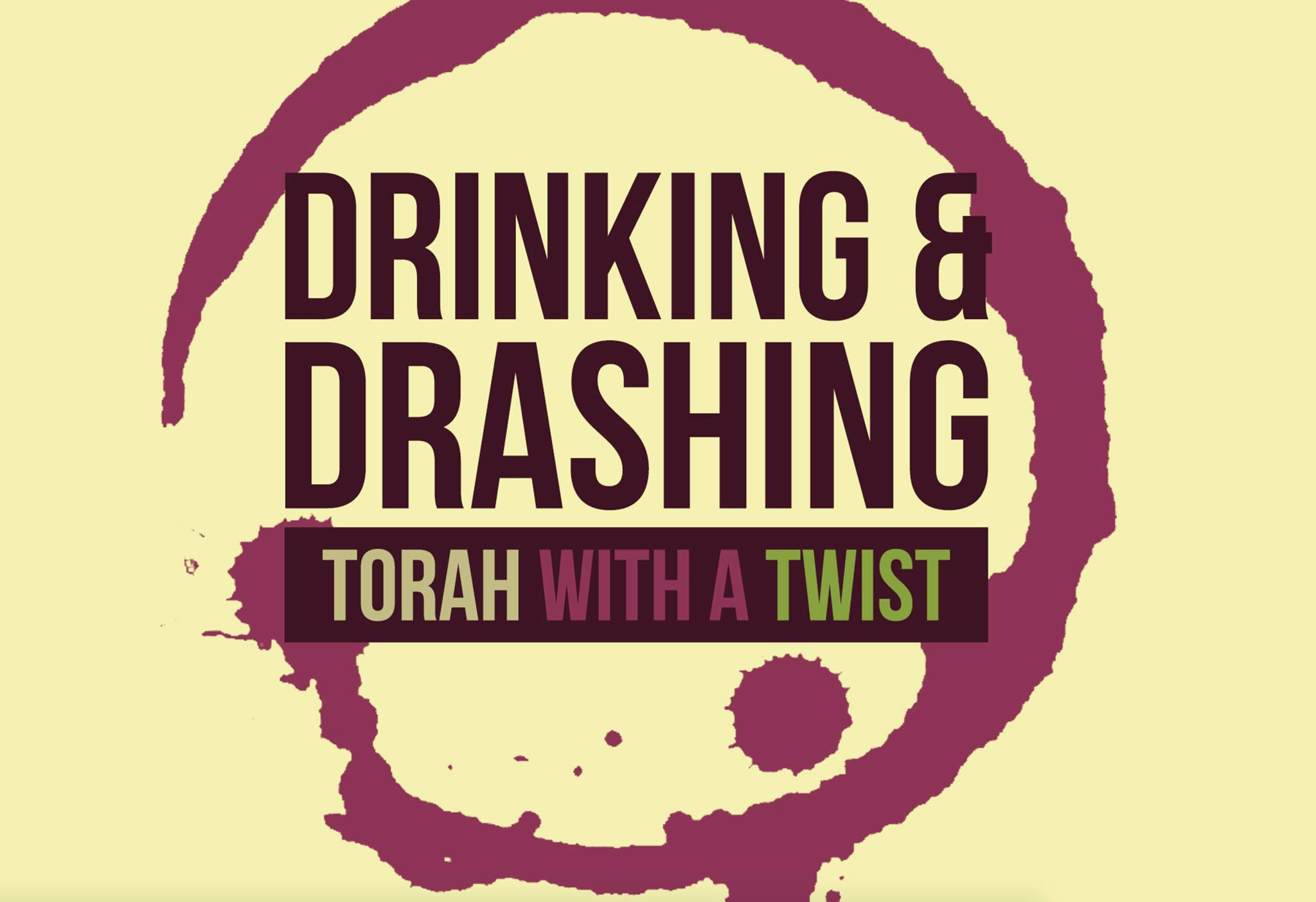 logo of podcast Drinking and Drawing Torah with a Twist