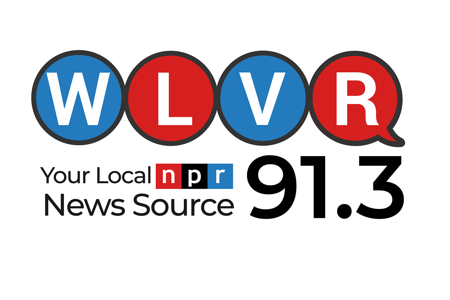 WLVR radio logo